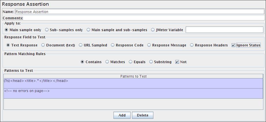 JMeter Complete Element Reference - Part VII (2/6)