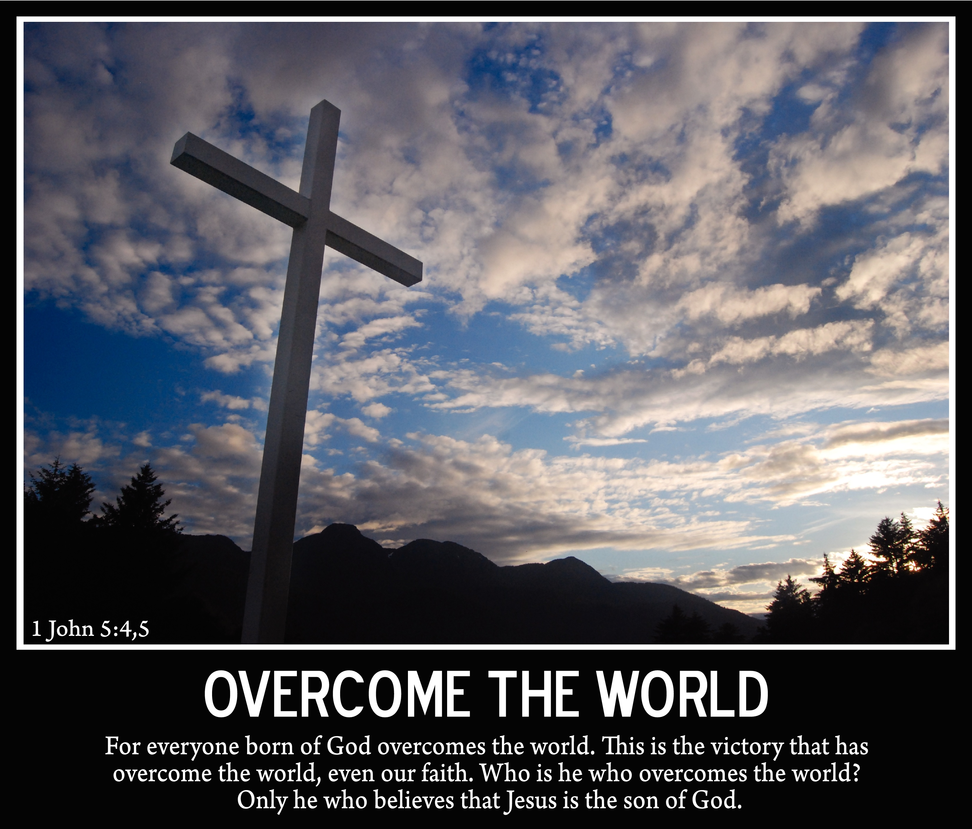 Overcome the World Photograph