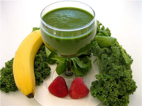Drink Only Green Smoothies (1/2)
