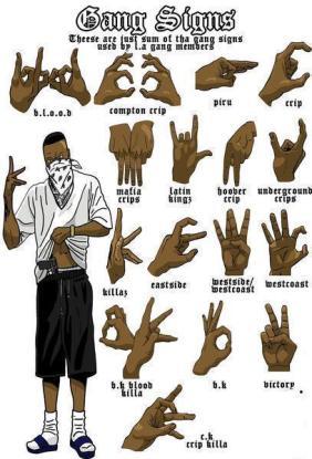 la_gang_signs