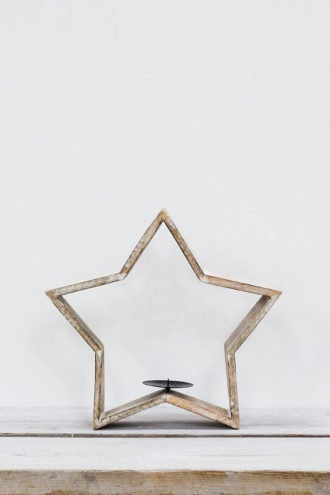 TINDRA TEALIGHT STAR LARGE - £25.00
