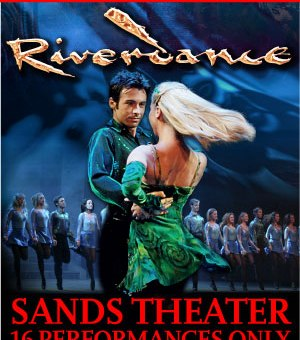Riverdance at Marina Bay Sands
