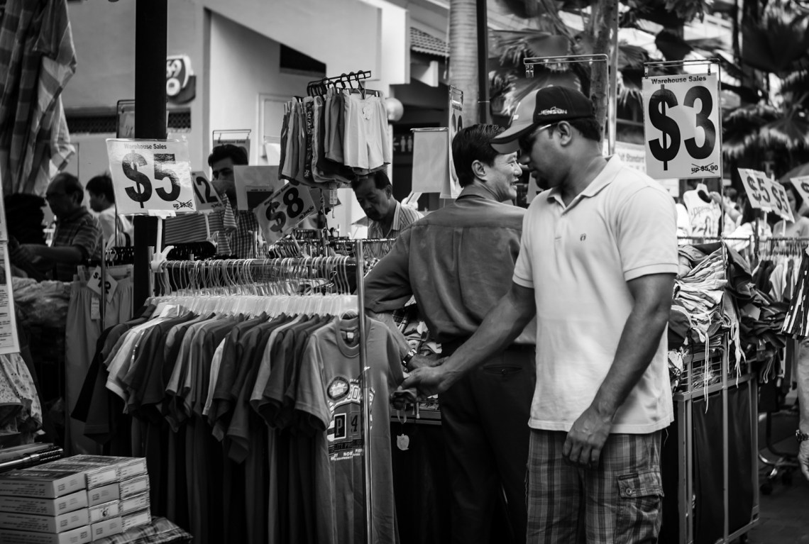 Street photography - Shop in Little India