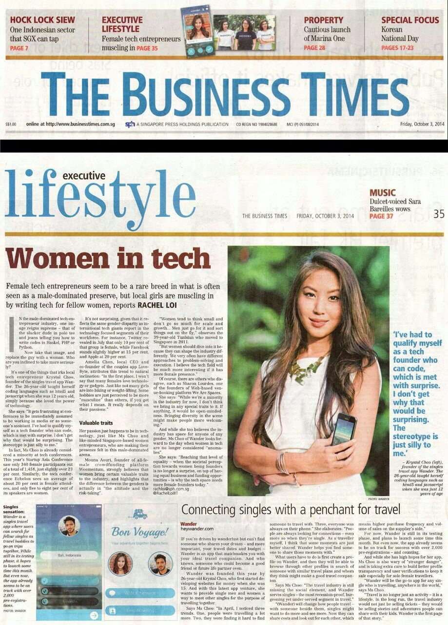 Business times Krystal Choo