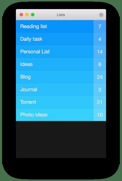 Clear tasklist