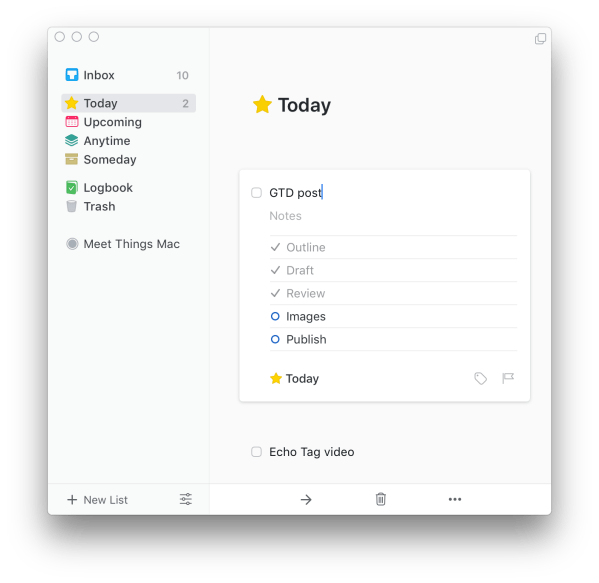 Things today checklist png