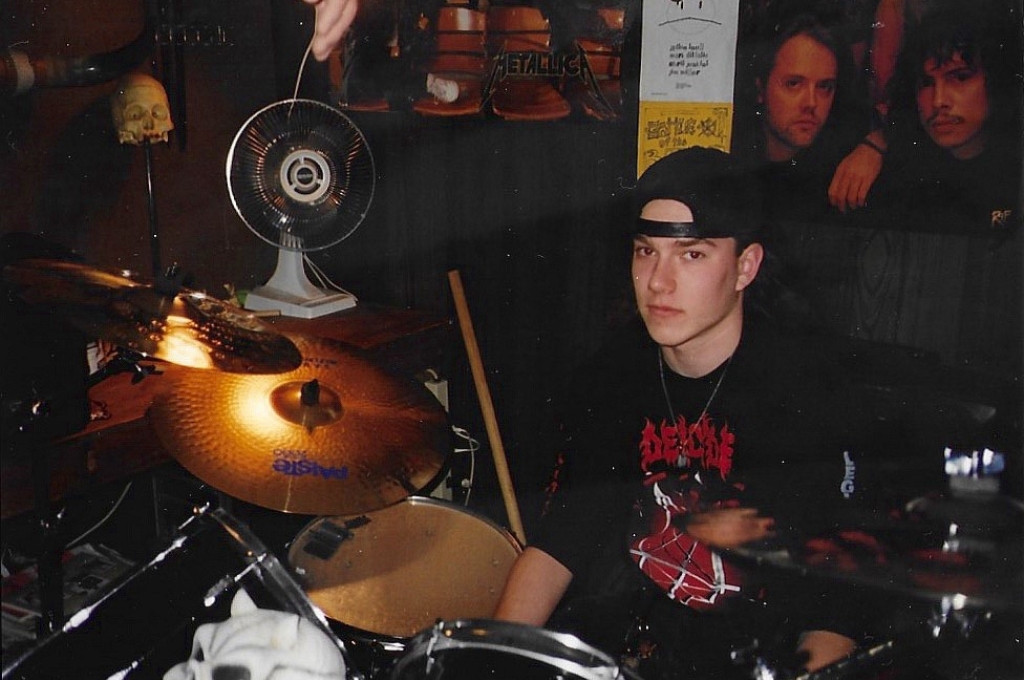 Jim Miller the Rockstar on Drums