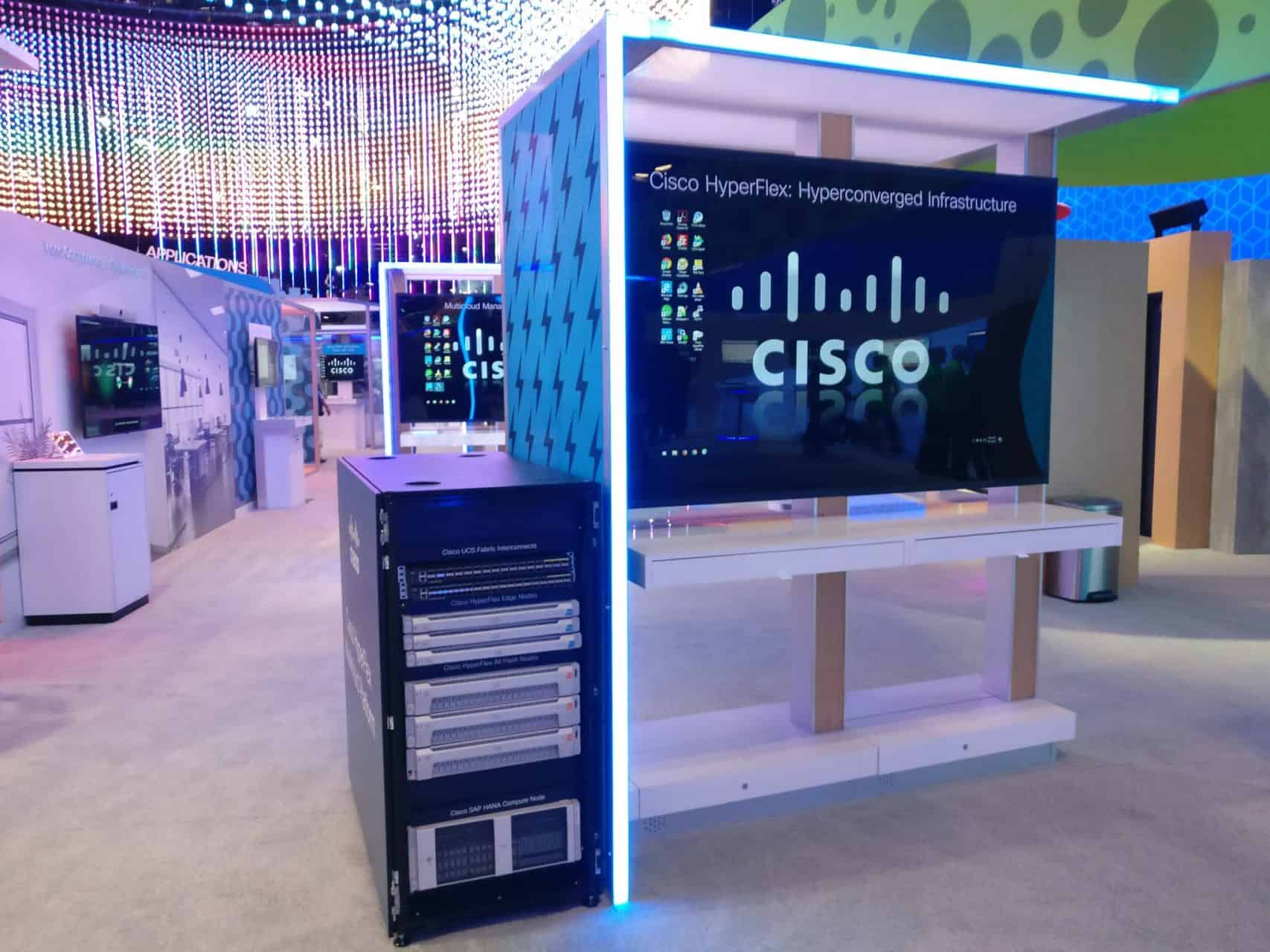 Cisco HyperFlex Booth at WoS