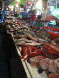 Choosing our seafood
