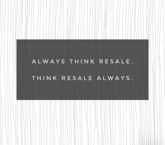 think resale
