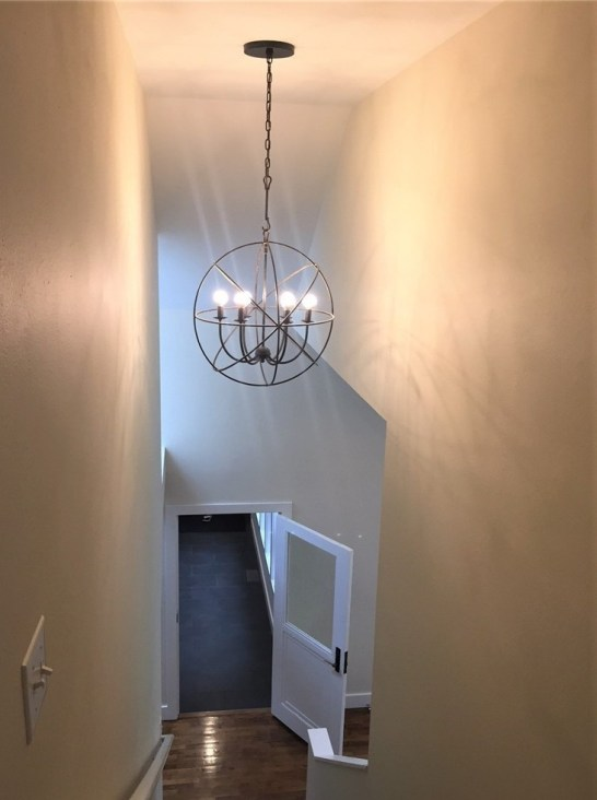 remodeled stairwell