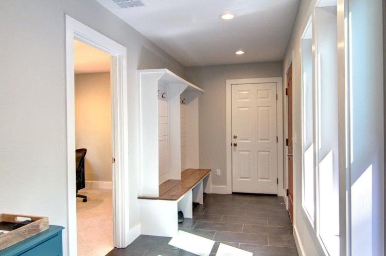 built ins mudroom