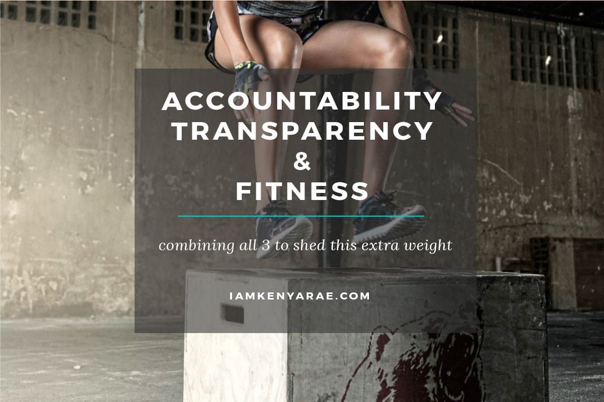 My Offer of Accountability For Your Fitness Journey