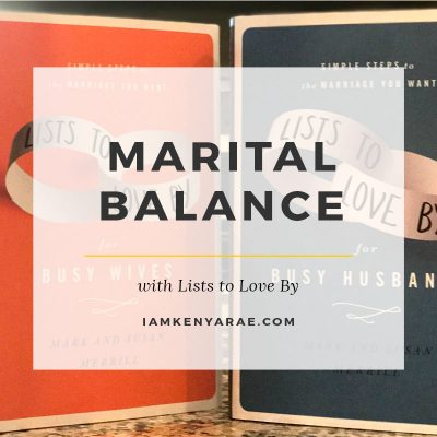 Maintaining Balance With Lists To Love By [Book Review]