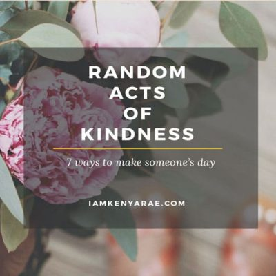 7 Simple Ways To Make Someones Day Today