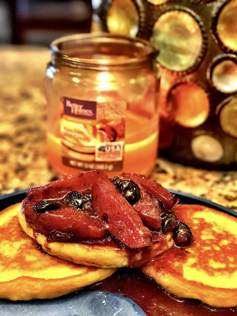 sweet potato pancake breakfast