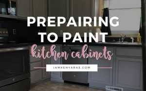How to Prepare for Painting Kitchen Cabinets