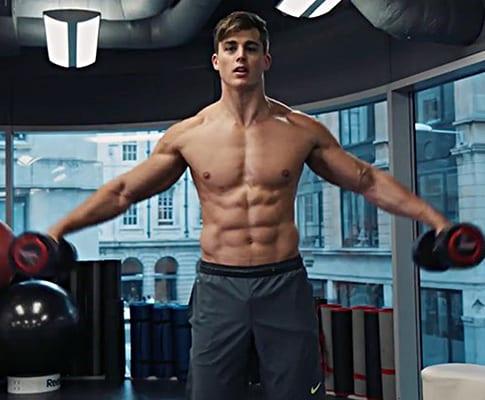 6 Bài tập gym của thầy giáo sex Pietro Boselli