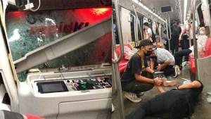 LRT laluan Kelana Jaya Nahas Pertama Dalam 23 Tahun