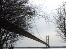 This is the Humber Bridge. It made me wonder, how long were the journeys to the other side before it?!