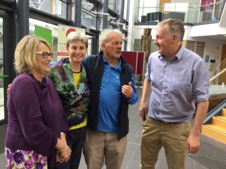 Galway Uni: Helen Rochford-Brennan & Prof Eamon O'Shea