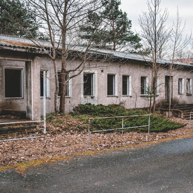iamlost verlassene orte Raketenbasis bei Ohrdruf