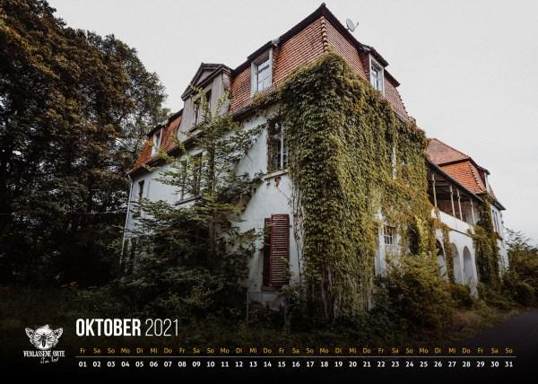 Lostplace Kalender 2021