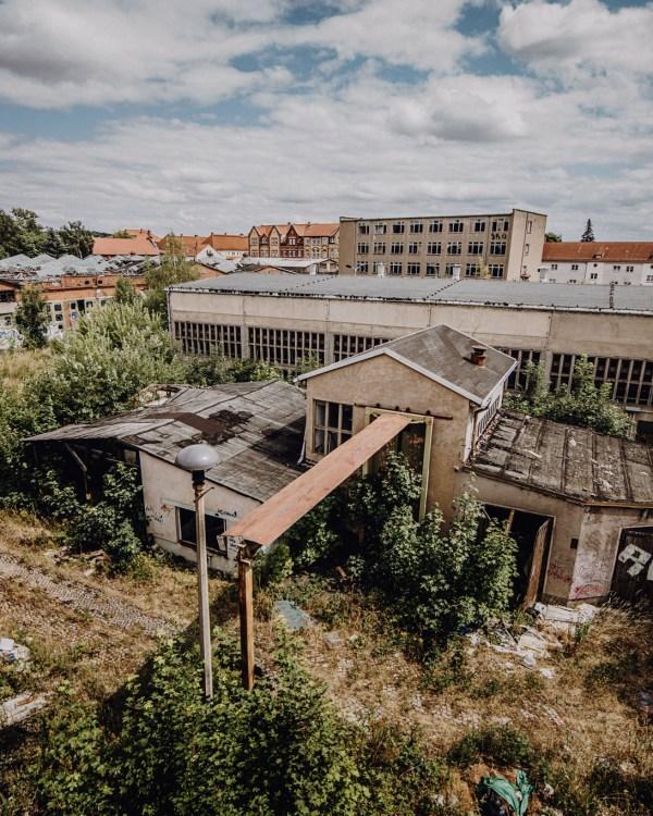 iamlost verlassene orte lostplace lostplaces urbex urban exploring Thueringen leerstehend Reichsbahnausbesserungswerk Gotha RAW