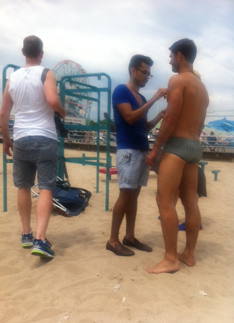 Manchic Behind the Scenes Men Moments Magazine Editorial