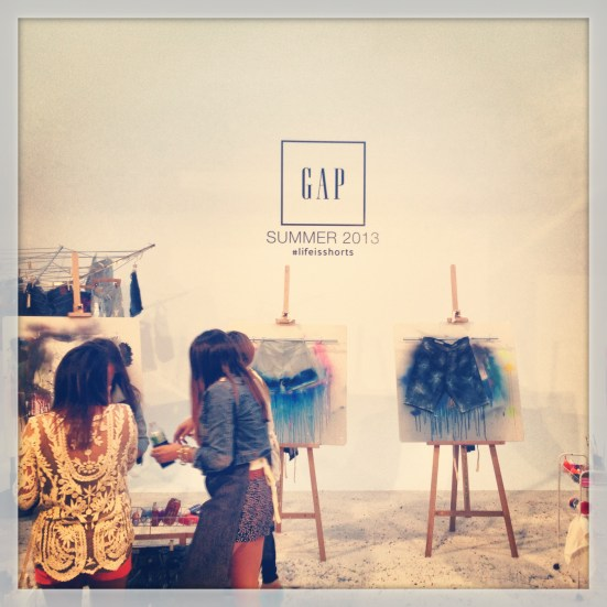 manchic at GAP's #lifeisshorts NYC
