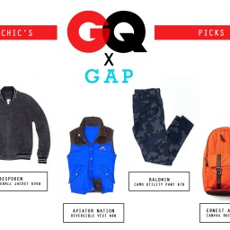 Trendy Now: Manchic's Picks from GQ x Gap 2013