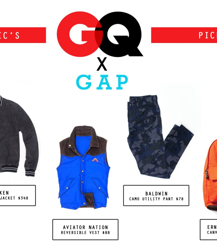 Fashion Report: Manchic's Picks from GQ for Gap 2013