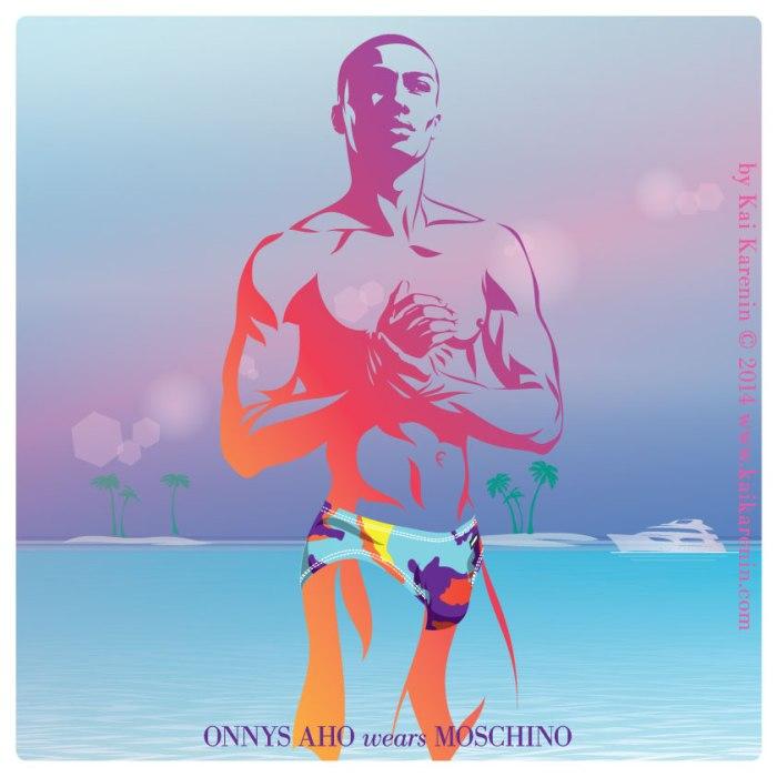 Manchic Exclusive: The Swim Suite by Kai Karenin