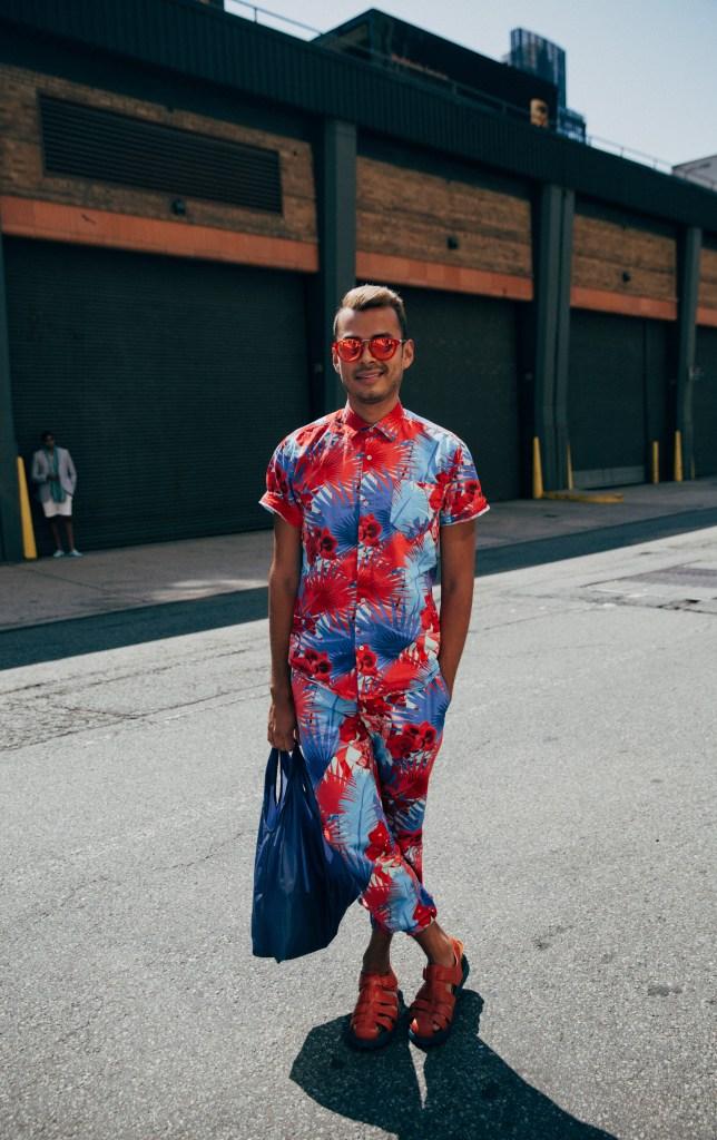 Street Style At New York Fashion Week: Men's