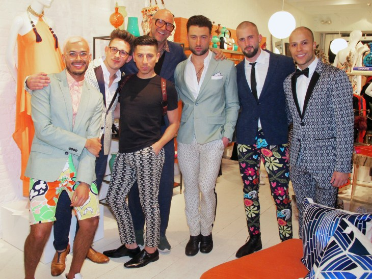 Celebrating the launch of Mr Turk Spring 2017 in New York City
