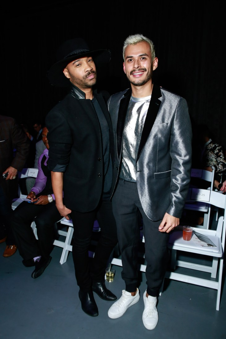 Ryan Davis and Jorge Gallegos at Jeffrey Fashion Cares 2017 (Photo Gonzalo Marroquin/PMC)