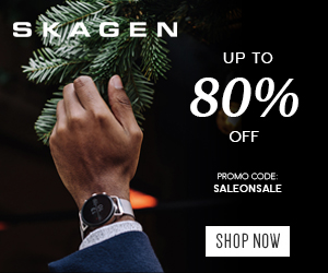 Limited Time Skagen Promotion!