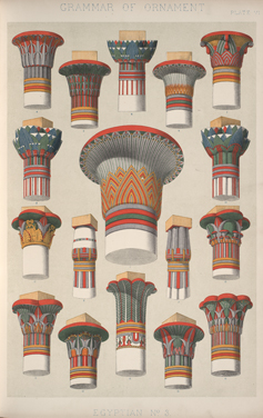 Antiquity Egypt  History of Design through the 18th Century