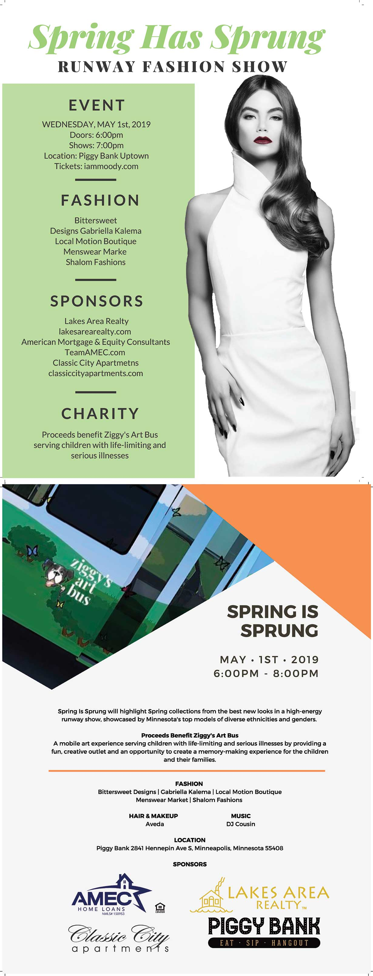 spring has sprung 2019 flyer