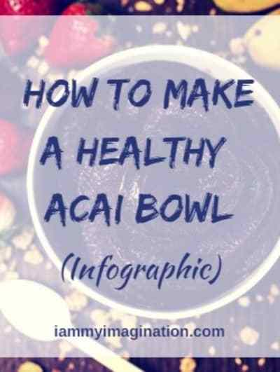 How to Make A Healthy Acai Bowl (Infographic)