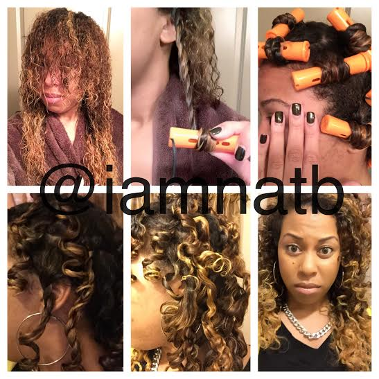 Two Strand Twist With Perm Rods