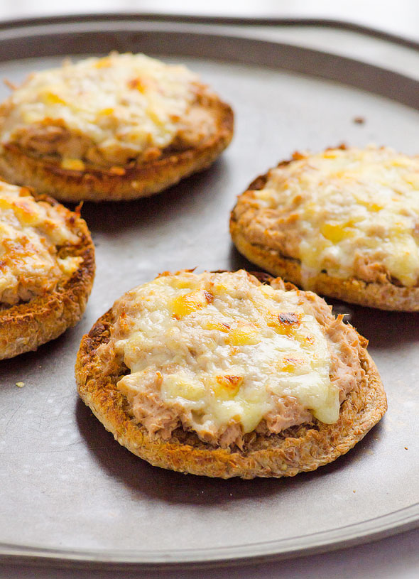 Green Chile Biscuit Tuna Melt / iFoodReal
