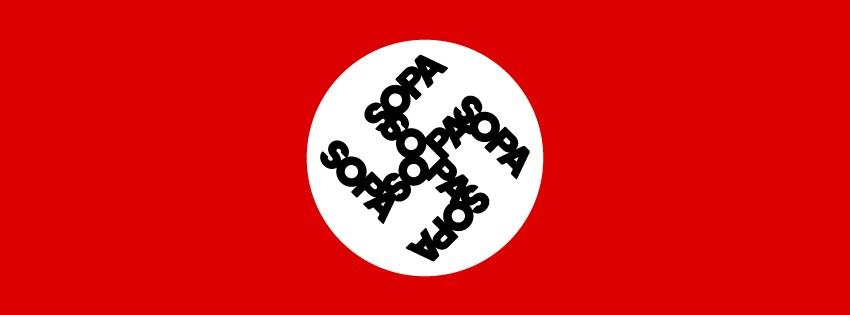 NaziFlagSOPA
