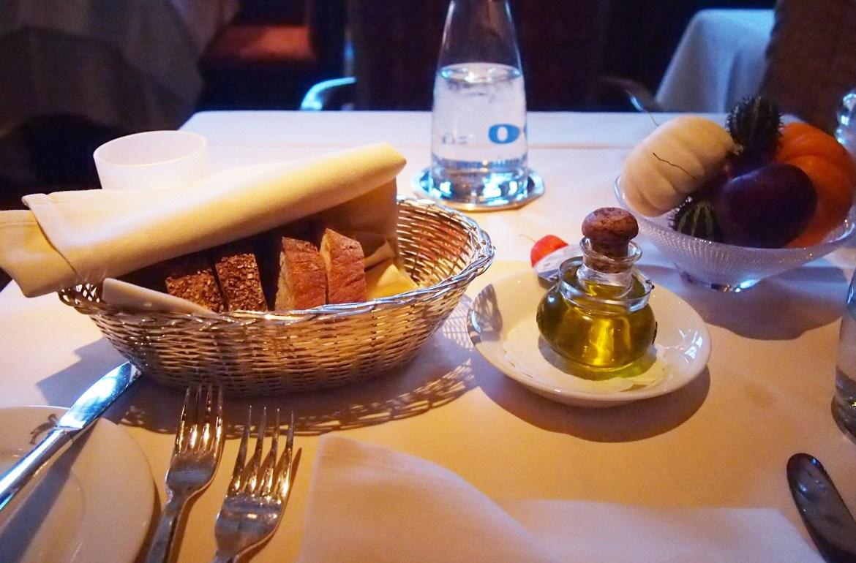 Storchen Zurich Bread and Oil