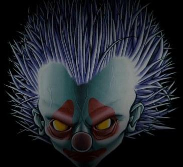 Clown2-peinture-tissu