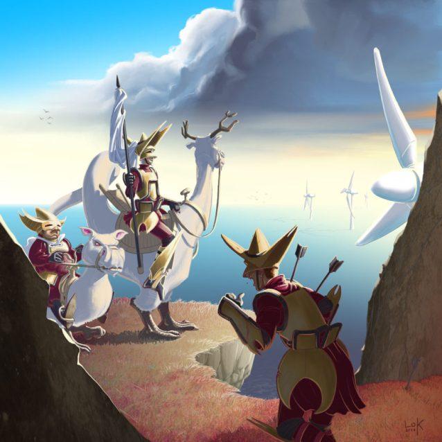 Don Quichotte revisited - auteur : Lok