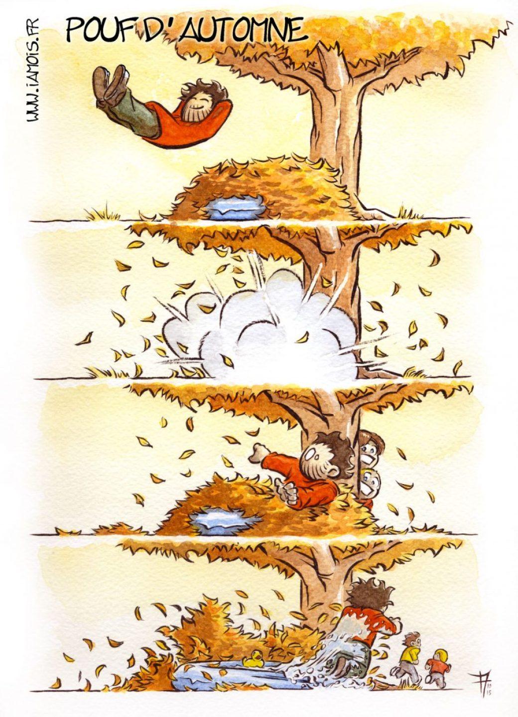 Pouf d'automne - auteur : iamo'i's