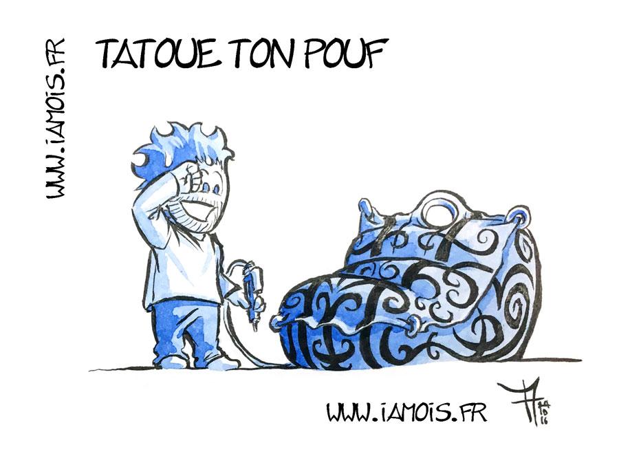 Tatoue ton Pouf - auteur : iamo'i's
