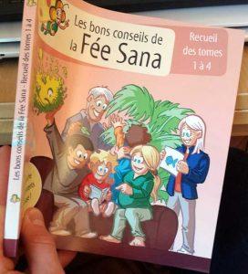 Recueil des tomes 1 à 4 - Les bons conseils de la Fée Sana