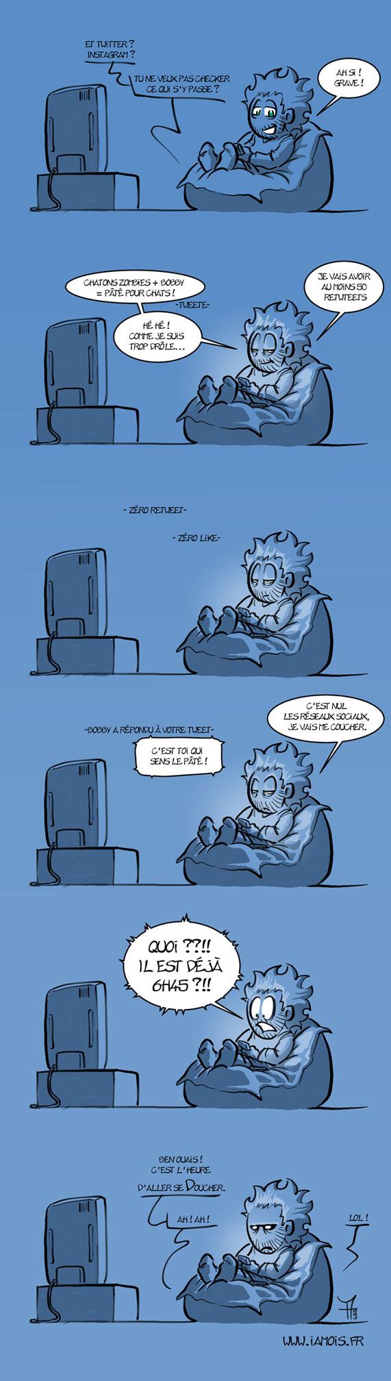 Poufcrastination - 2/2 - auteur : iamo'i's